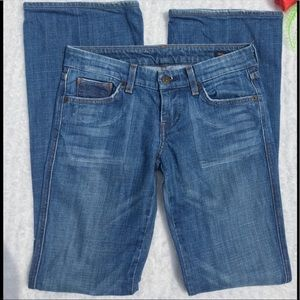 Citizens Of Humanity Mid Wash Bootcut Jeans Sz 26